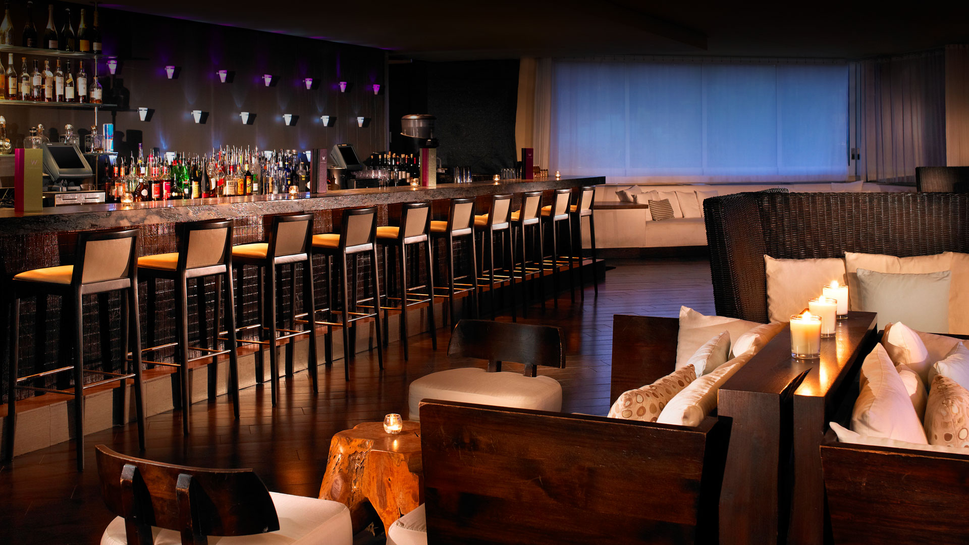 Shade Lounge in Scottsdale » Shade Lounge inside the W Hotel in old ...